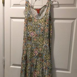 Sundance Full Skirt Maxi Sundress